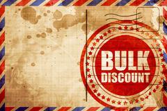 Bulk discount Stock Illustration