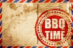 Bbq time Stock Illustration