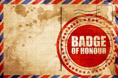 Badge of honour Stock Illustration