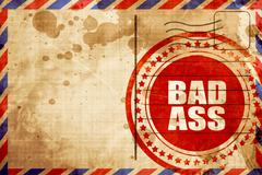 bad ass - stock illustration