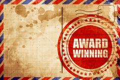 award winning - stock illustration