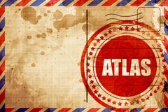Atlas Stock Illustration