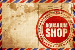 Aquarium shop Stock Illustration