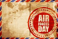Air forces day Stock Illustration
