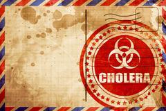 Cholera concept background Stock Illustration