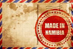 Made in namibia - stock illustration