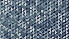 Background animation loop of camouflaged cubes in navy colors. Stock Footage