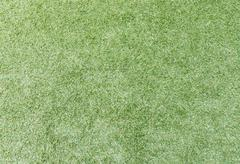 Old artificial grass - stock photo