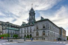 Portland City Hall - Maine - stock photo