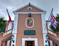 Saint George's Town Hall - Bermuda Stock Photos