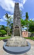 Saint George's Settlement Obelisk - Bermuda Stock Photos