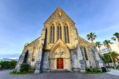 Bermuda Anglican Cathedral Stock Photos