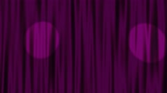 Curtain with spot light loop background pink Stock Footage