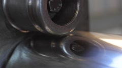 Flat rolled metal products - stock footage