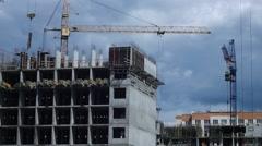 Civil Engineering Timelapse Stock Footage
