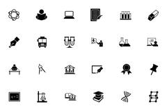 Education and School Icons Piirros