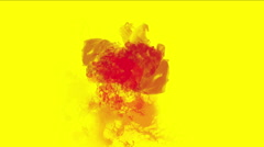 4k Explosion blood energy,Clouds mist splash smoke,fire gas fireworks particles Stock Footage