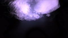 4k Explosion flash energy,Clouds mist splash smoke,fire gas fireworks particles Stock Footage