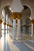 Sheikh Zayed White Mosque in Abu Dhabi, UAE Stock Photos