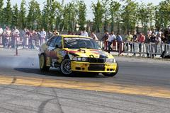 Apex Masters Turkish Drift Series Istanbul Race Stock Photos