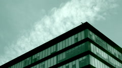 Corporate building nostalgy Stock Footage