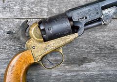 The gun that won the west. Stock Photos
