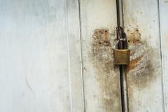 Old master key rustry in soft light Stock Photos