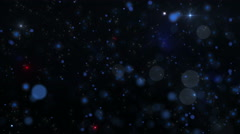 Space Particles Dust Fast Background Stock Footage