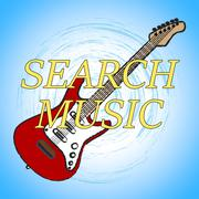 Search Music Showing Finding Musical And Acoustic Piirros