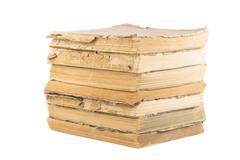 Antique books - stock photo