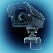 CCTV security camera Stock Illustration