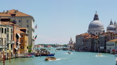 Venice Canale Grande - Italy in UHD Stock Footage