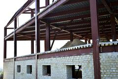 Roof structure,construct ion Stock Photos