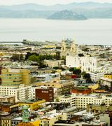 Aerial view of San Francisco cityscape, California, United States Kuvituskuvat