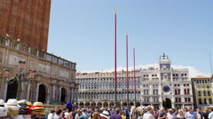 Venice Place San Marco in UHD Stock Footage