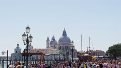 Venice Tourism in 4k Stock Footage