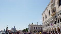 Venice Palazzos in UHD Stock Footage