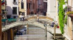Venice Bridges Italy in UHD Stock Footage