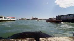 Venice Lagune in UHD Stock Footage