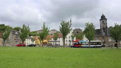 Historic village of Culross Fife Scotland. Stock Footage