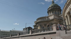 Cathedral, St. Isaac's Cathedral - stock footage