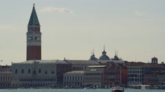 Tower San Marco Venice Italy in UHD Stock Footage