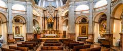 Sant Antoni de Viana Church, Palma de Mallorca Stock Photos