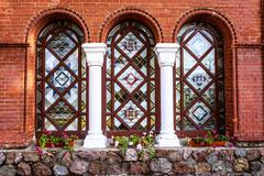 Church of Saints Simon and Helen in Minsk, Belarus Stock Photos