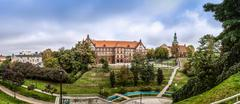 Middle School No. 1 in Gniezno, Poland - stock photo