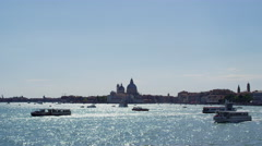 Panorama on Venice Italy in UHD Stock Footage