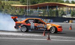Apex Masters Turkish Drift Series Istanbul Race - stock photo