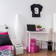 This room is so girly - stock photo