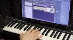 Recording Studio Stock Footage