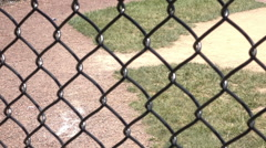 Baseball field feild base ball 2 Stock Footage